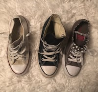 3 Pairs of Converse Size 7 Martinsburg, 25403