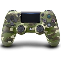 Dualshock wireless controller ps4 green camouflage Sterling, 20164