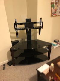 Glass TV stand with mount Aurora, 80016