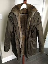 BlueDuck Women's Fur Lined Winter Parka Size XL 536 km