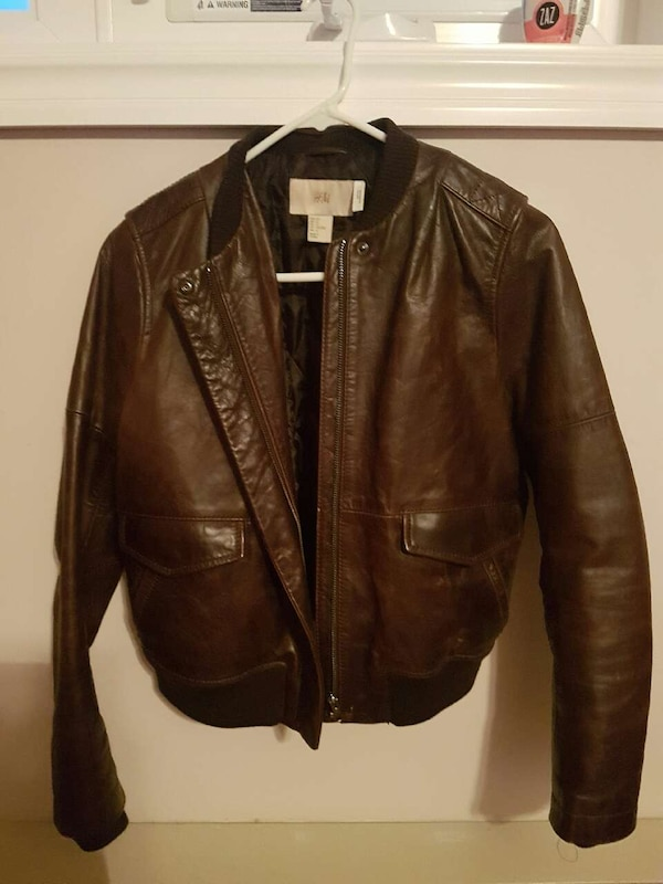 New womens leather jacket