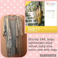 Brand new with tags LuLaRoe Shirley! Shelby, 44875