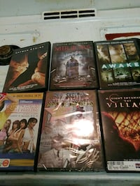 6-assorted DVD movies Silver Spring, 20910