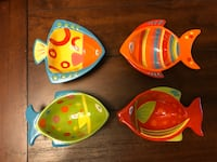 Ceramic fish-shaped bowls Washington, 20008