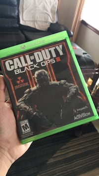 Call of Duty Black Ops 3 Xbox One game case Chestermere, T1X 0B9