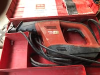 Red and black milwaukee reciprocating saw Mc Lean, 22101