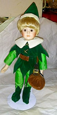 New Peter pan porcelain doll Winchester, 40391