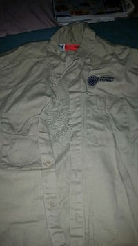 Men's Xl Fire shirts blue,brown,yellow New Port Richey, 34653