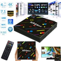 H96 max Colorfull 4gb-32gb Android TV Box Istanbul