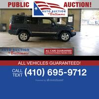 2006 Jeep Commander Limited Joppa