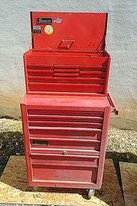 red and gray tool cabinet Frederick, 21702