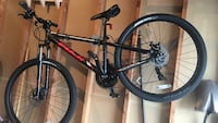 black and red hard tail mountain bike Rohnert Park, 94928