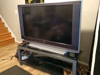 TV and TV Stand with extra lamp Falls Church