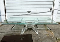 """BUTTERFLY"" LUCITE COFFEE TABLE BY LION IN FROST Los Angeles, 91601"