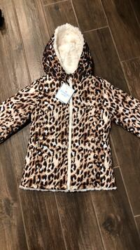 Justice new with tag winter jacket size 6/7 Naperville, 60564