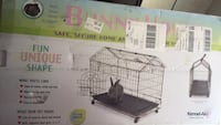Bunny cage. Never used. $43 new at Walmart Fort Walton Beach, 32547