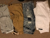 Two brown and gray cargo shorts Martinsburg, 25401