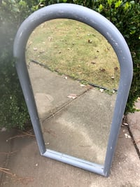 Distressed beveled arched top mirror Raleigh, 27604