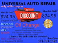 Oil change Los Angeles, 90011