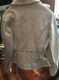 New Women's Leather Motorcycle Jacket Hampton, 23666