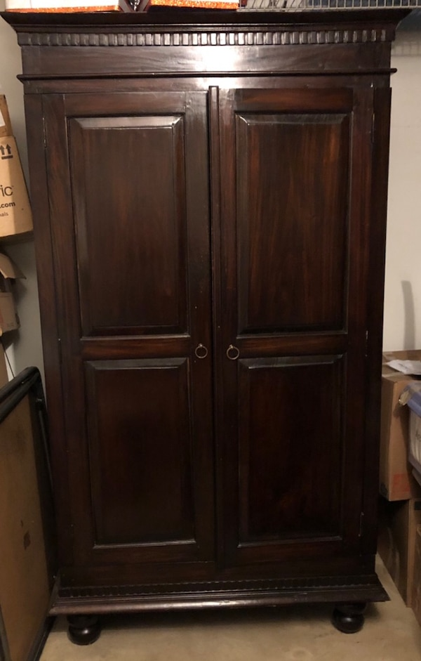 Dark Wood Armoire