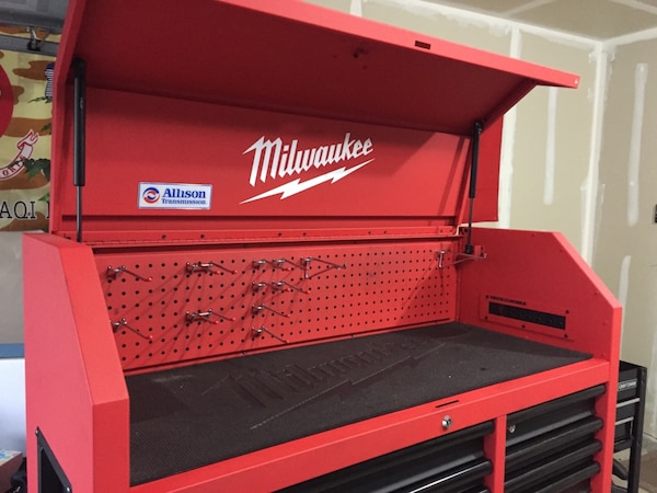 Prime 46 Milwaukee Tool Chest And Cabinet Combo Machost Co Dining Chair Design Ideas Machostcouk