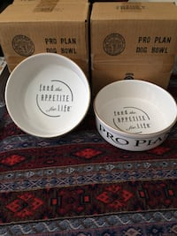 2 Pro Plan Medium Dog Bowls for both or $10.00 each Skokie, 60077