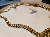 Gold Cuban Link Chain Necklace St. Catharines