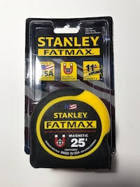 BRAND NEW STANLEY FATMAX MAGNETIC TAPE MEASURE Richmond Hill, L4B 2Z3