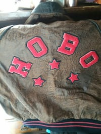 Vintage Hobo brown leather jacket