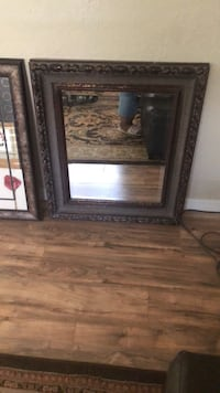 brown wooden framed wall mirror Winter Haven, 33881