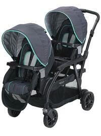 baby's black and green tandem stroller Toms River, 08755