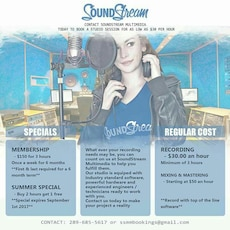 Need studio time..great price.. very profession