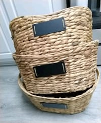Set of 3 baskets Los Angeles, 91304