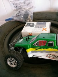 green and white RC monster truck La Mesa, 91942