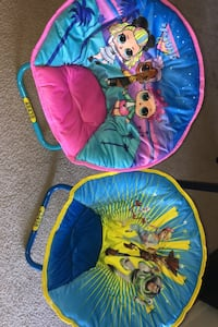 Baby/toddler collapsible mini saucer chairs toy story 4/girls squad