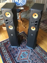 Two black 2-way speakers West Chester, 19382