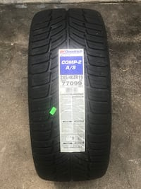 black car tire with tire Houston, 77083