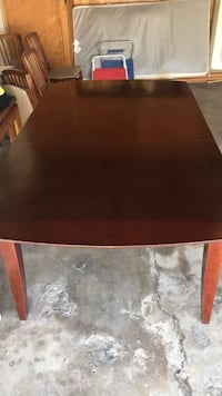 rectangular brown wooden coffee table Los Angeles, 91335