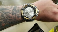 round black and gold chronograph watch Pikesville, 21208
