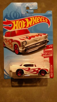 2019, Hot Wheels, Red Edition