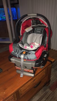 baby's gray and red car seat carrier Westminster, 80234