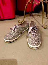 Kate Spade KEDS glittery size US7 almost new