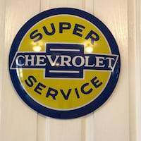"""New 16"""" metal Chevrolet dome sign  Indianapolis, 46259"""