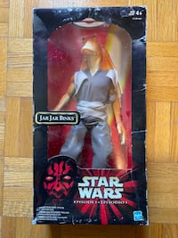 Jar jar 12 inch action figure