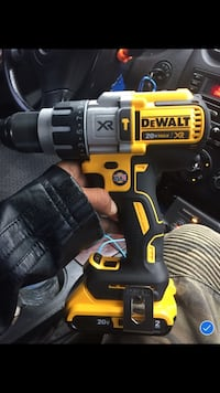 black and yellow DeWalt cordless power drill North Richland Hills, 76180