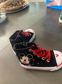 Mickey Mouse Toddler Boy Shoes - Size 7