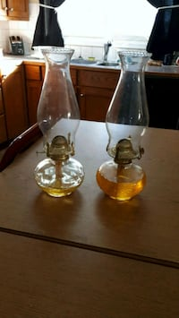 Pair of lamps oil  Sherwood Park, T8A 0G2