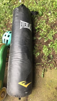 black and green Everlast heavy bag Vancouver, 98682