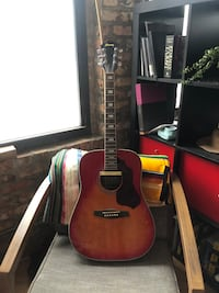 Ibanez acoustic electric guitar
